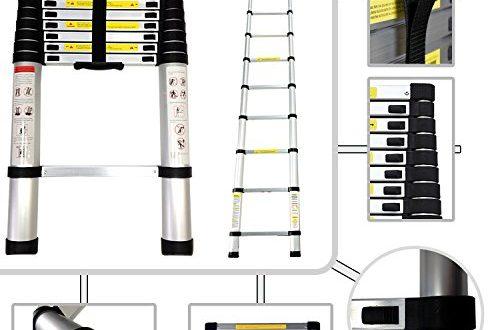 Teleskopleiter 3.80 Meter aus Aluminium Norm EN131 13 500x330 - Teleskopleiter 3.80 Meter aus Aluminium - Norm EN131 - 13 Sprossen